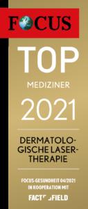 Focus Auszeichnung Dermatologische Lasertherapie 2021