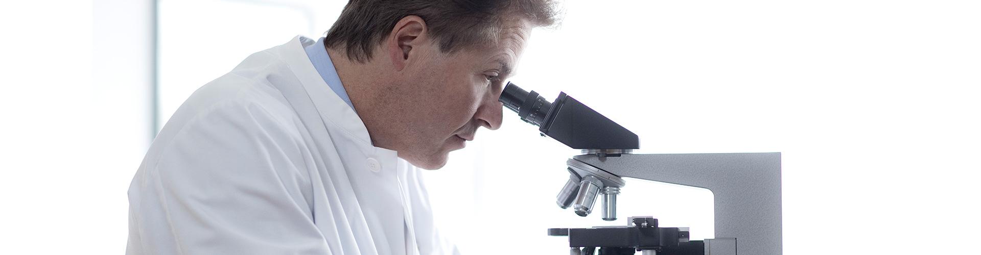 Banner Mikroskop